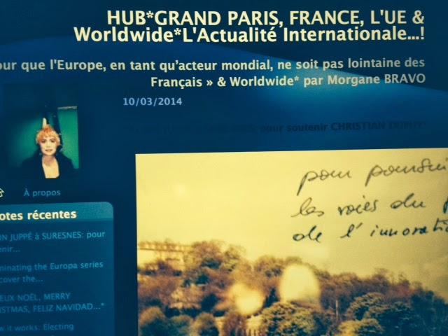 HUB*GRAND PARIS, FRANCE, L'UE & Worldwide* By Morgane BRAVO