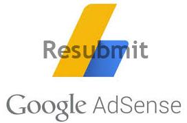 Cara Resubmit Google Adsense