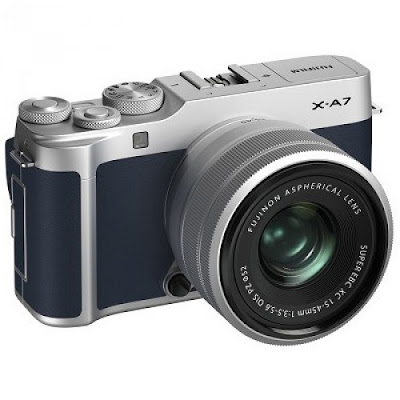 Fujifilm X-A7 Mirrorless Digital Camera Firmware Latest Driverをダウンロード