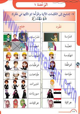 8. Sınıf Arapça Meb Yayınları Ders Kitabı Cevapları Sayfa 22