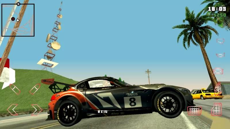 Mod Mobil BMW Z4 GT3 2010 GTA SA Androidbravura.dff