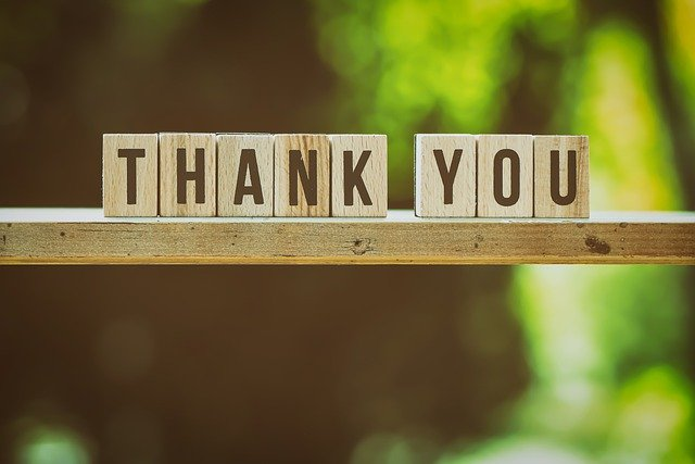Membiasakan Diri Mengucapkan Terima Kasih
