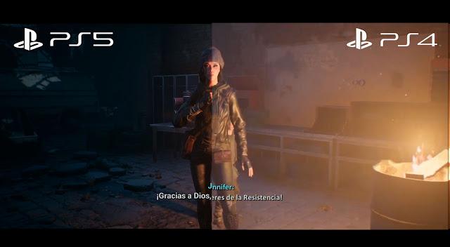 terminator resistance compartiva ps4 ps5