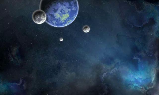 exoplaneta - ilustração artística