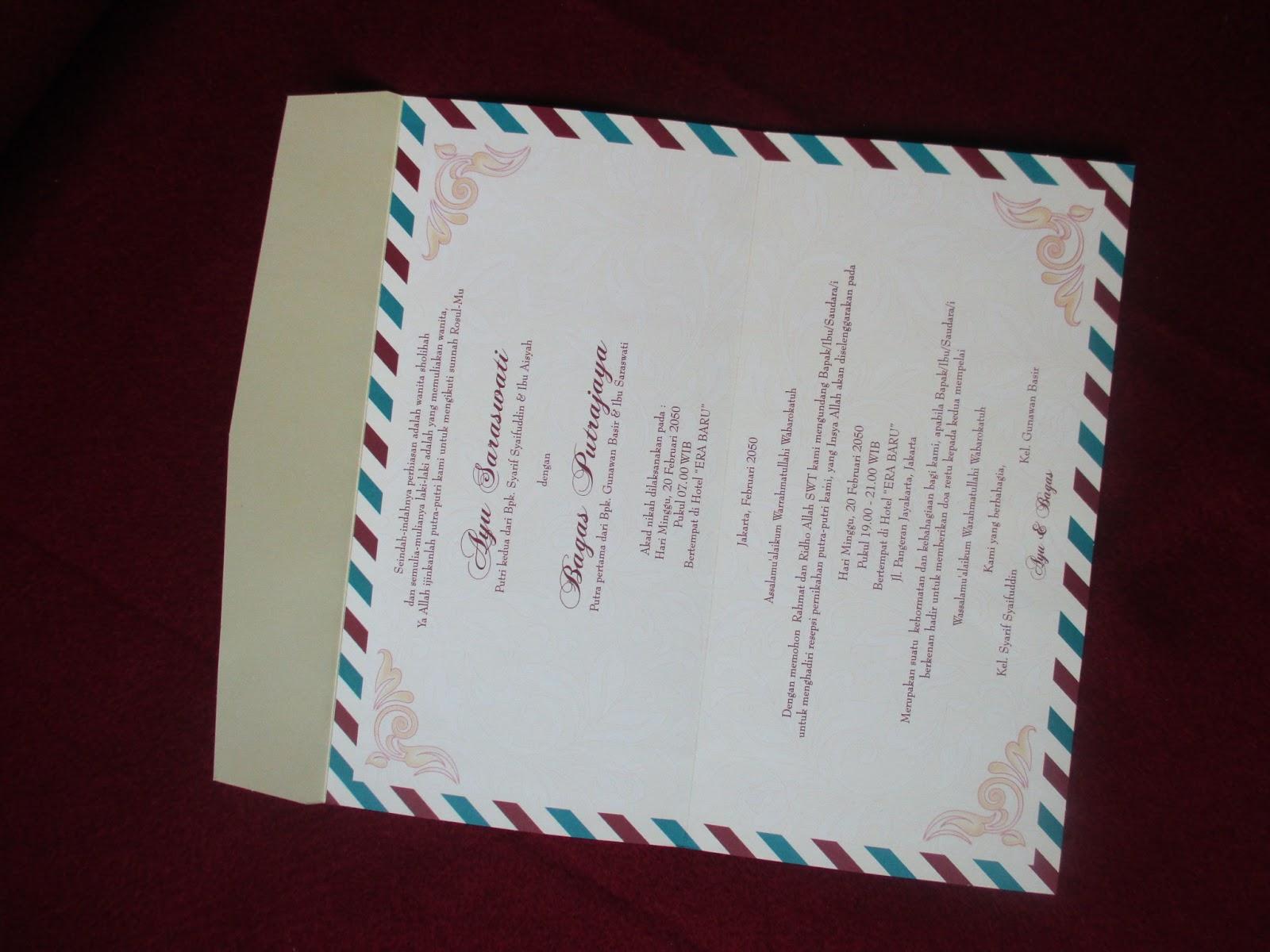 Undangan Pernikahan Erba 88172 | Tabloid Laptop