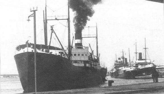 23 March 1941 worldwartwo.filminspector.com freighter Tabarka