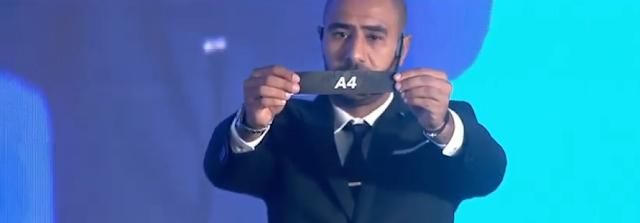 محمد شوقى يسحب قرعة دور المجموعات من دورى أبطال إفريقيا