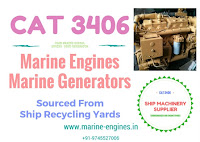 CAT 3406 marine diesel engine and generator for sale