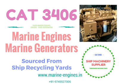 caterpillar, CAT 3406, caterpillar marine diesel engine, caterpillar marine generators,