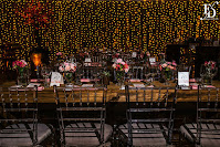 casamento com cerimônia no salão deck da sogipa e recepção e festa nos salões turner e deck da sogipa em porto alegre com decoração rústico romântico com cerejeiras e luzinhas em tons de rosa por fernanda dutra eventos