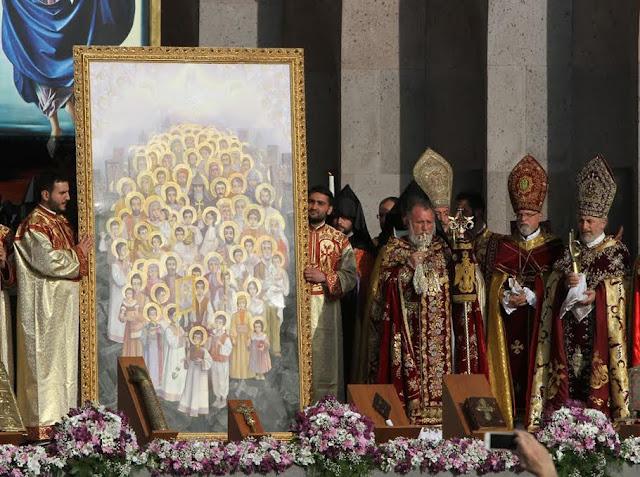 Iglesia Apostólica Armenia Liturgia Mártires Genocidio Armenio