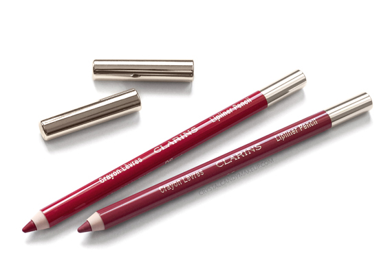 Clarins Lipliner Pencils 05 Roseberry 06 Red Review