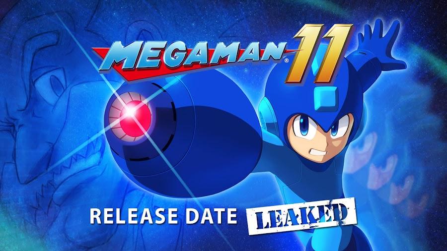 mega man 11 release date leak