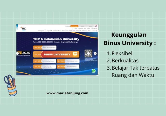 Kuliah di Binus University