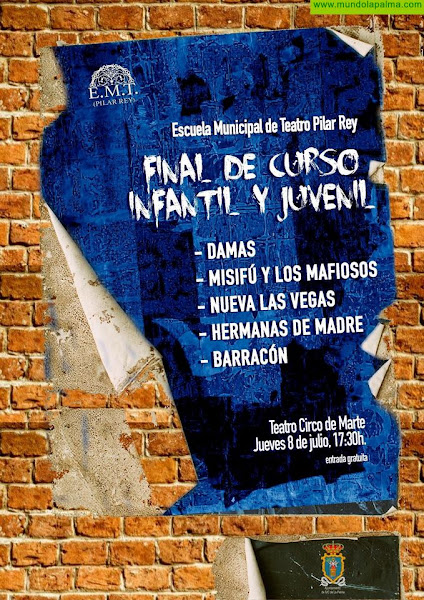 La Escuela Municipal de Teatro Pilar Rey clausura el curso con tres sesiones en el Teatro Circo de Marte