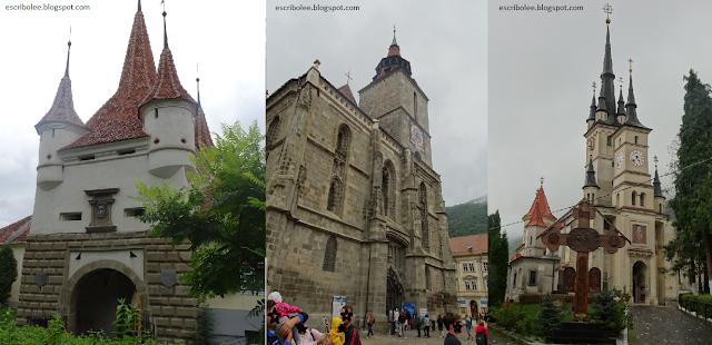 Viaje a Rumanía: Brasov: puerta de Santa Catalina, Catedral Negra, Catedral de San Nicolás