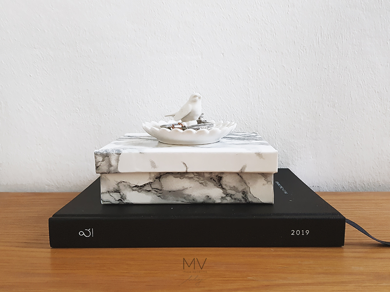 marble storage box diy