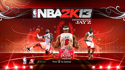 NBA 2K13 LeBron James MVP Mod
