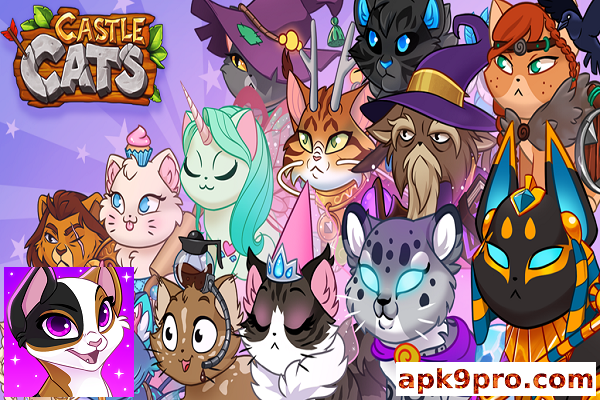 Castle Cats v2.13.4b3 Apk + Mod File size 113 MB for android