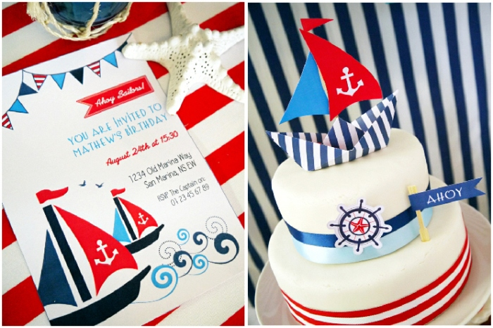 How To Make DIY Fondant Sailboat Cupcake Toppers - BirdsParty.com