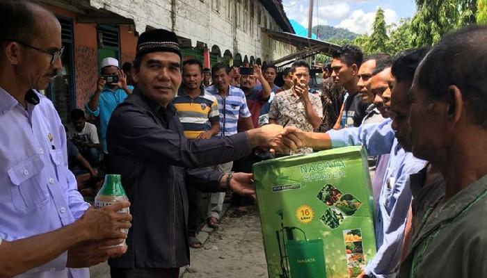 Dinas Pertanian Aceh Selatan Minta Kelompok Tani Tak Perjual Belikan Bantuan Handsprayer