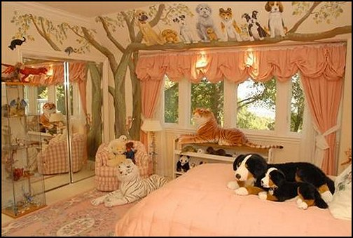 Decorating theme bedrooms - Maries Manor treehouse theme bedrooms - dog bedroom ideas