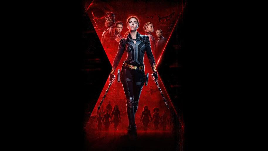 Black Widow, Poster, 2020, Movie, 4K, #7.1577