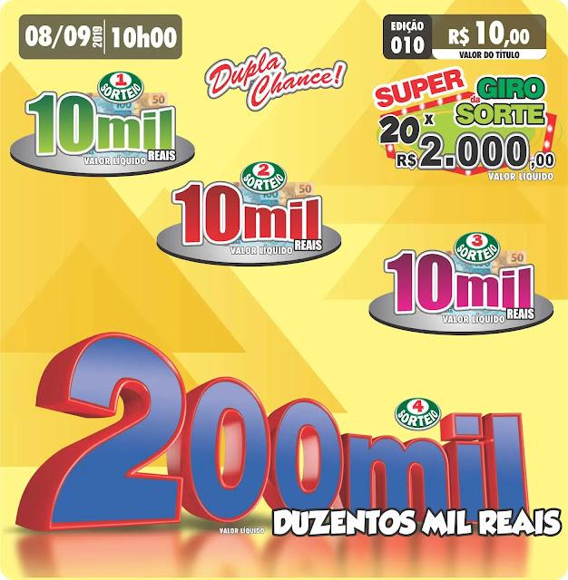 Premiação do Vida Cap Limeira em 08/09/19
