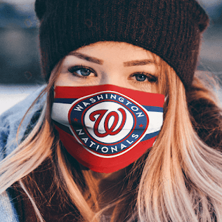 Washington Nationals Cloth Face Mask
