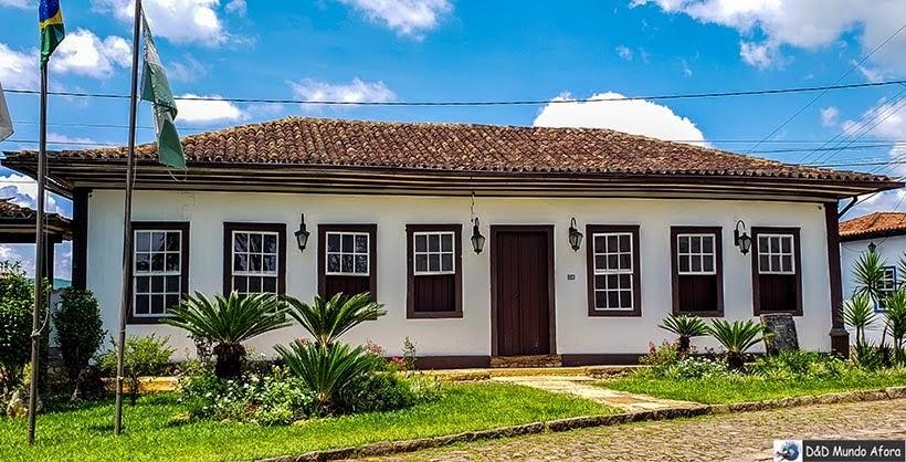 Sede da Prefeitura de Catas Altas - O que fazer em Catas Altas, Minas Gerais