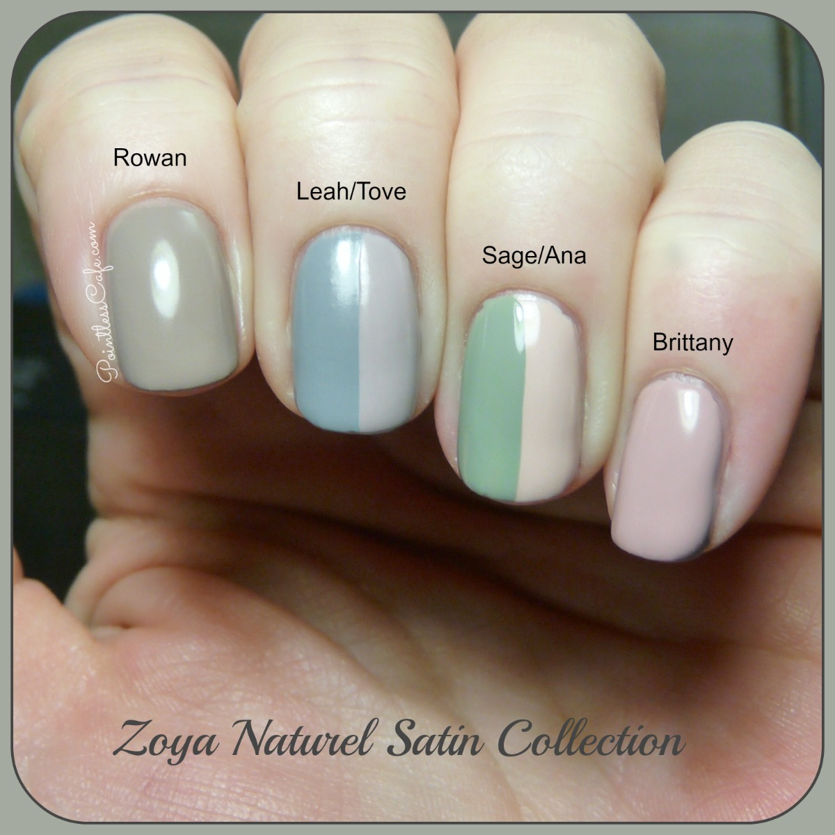 Zoya Naturel Satin Collection 2015 Swatches And Review Pointless