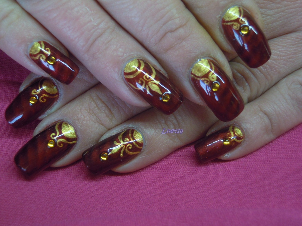 - Lnetsa 's nailart: Indian wedding nailart