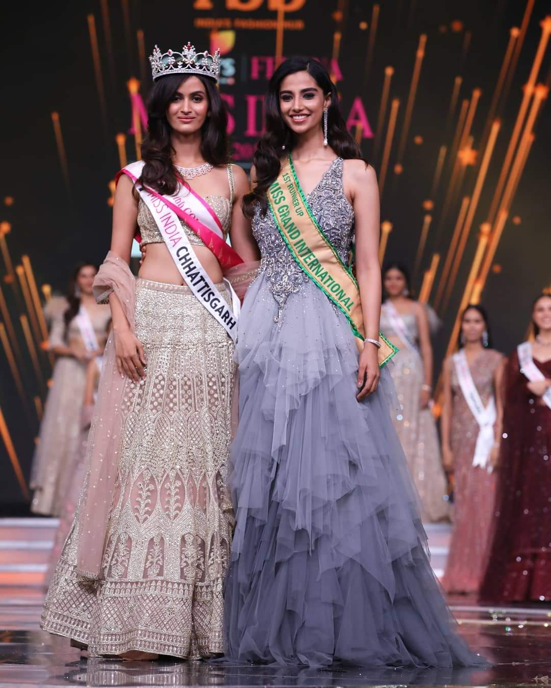 Girl From Chhattisgarh Wins Miss Grand India 2019 Title