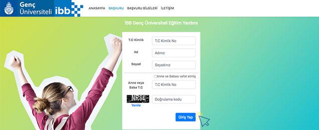 İstanbul Büyükşehir Belediyesi Genç Üniversiteli eğitim yardımına başvuru nasıl yapılır? Resimli anlatım kariyeribb.com'da!