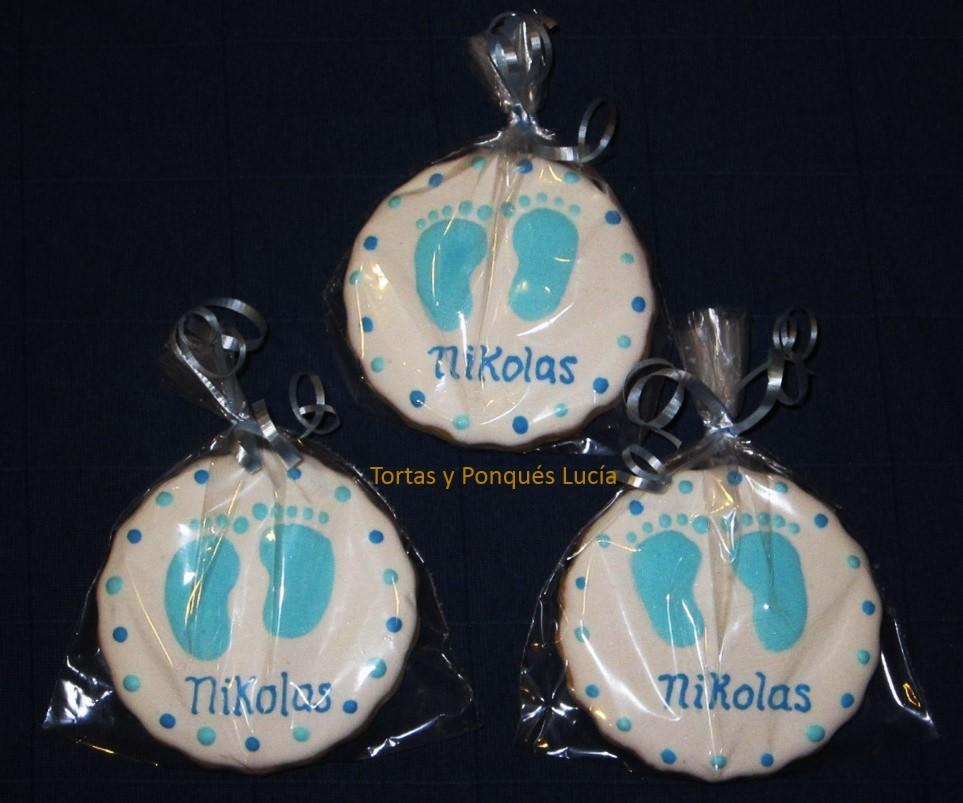 Tortas Y Ponques Lucia Galletas Decoradas Para Baby Shower