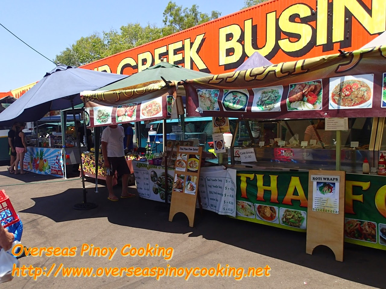 Rapid Creek Sunday Market, Food Stalls