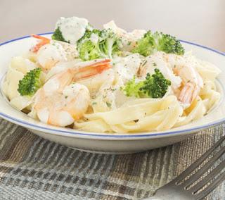 Fettuccine Alfredo Shrimp Recipe