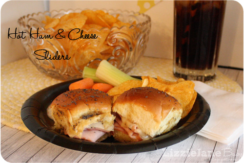Tasty Tuesday – Hot Ham And Cheese Sliders