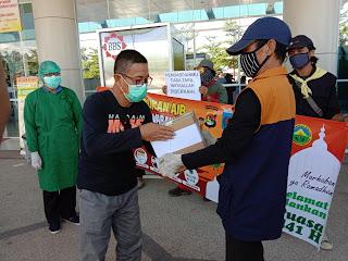 Mataram Emergency Response Dukung Petugas Medis RSUD Mataram Tangani Covid-19