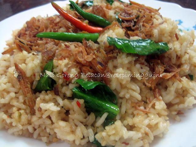 Resepi Nasi Goreng Belacan