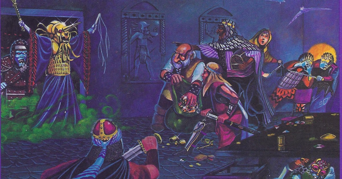 Dungeon Master Magazine: LEGENDARY GAME ARTIST JIM HOLLOWAY HAS ...