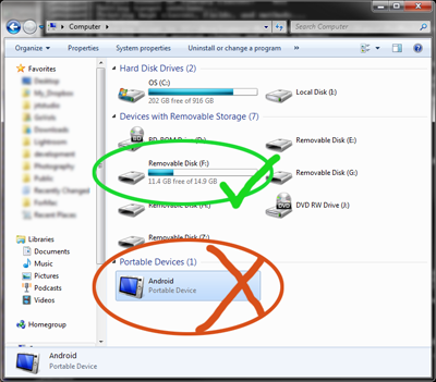 How to fix install mtp usb driver on windows 10. 7/8/8. 1. Android.