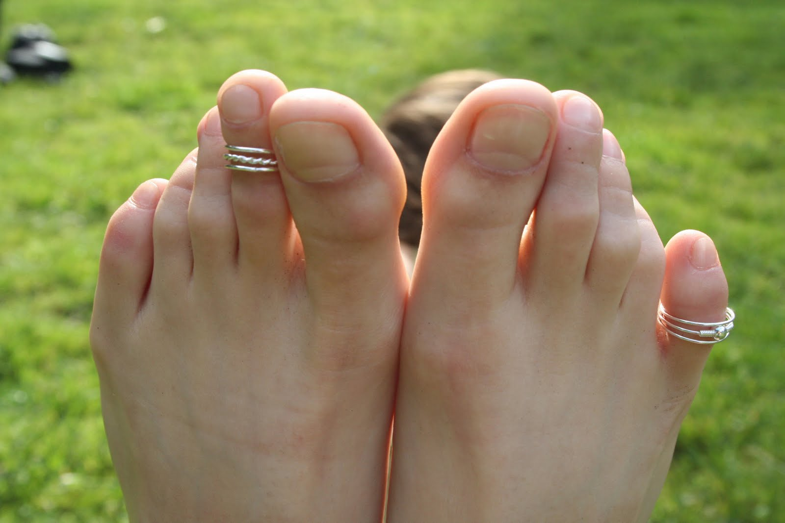 woman pulled up onto her toes