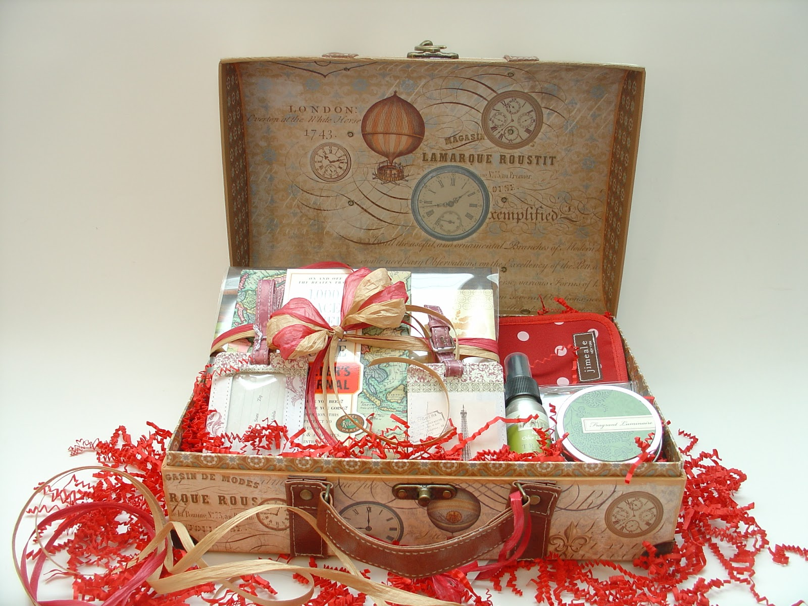 Thoughtful Presence The World Travel Gift Basket A