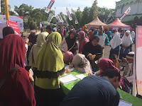 Lima Ratusan Warga Antusias Daftar Jadi Anggota PKS
