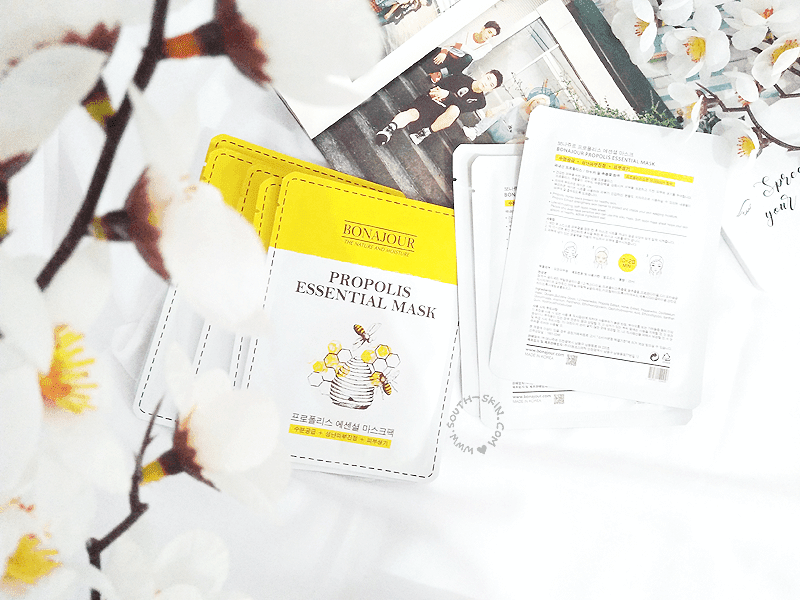 review-bonajour-propolis-essential-mask-southskin