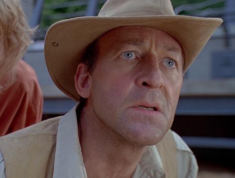 Robert Muldoon (Bob Peck) en Jurassic Park - Cine de Escritor