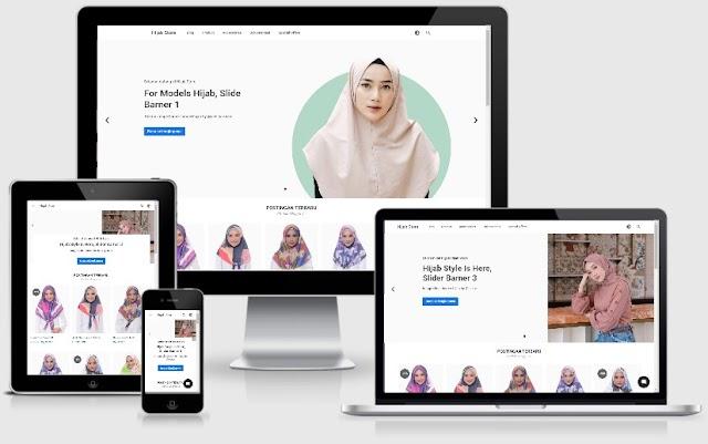 Blogger Store, Template Blogspot Terbaik untuk Toko Online