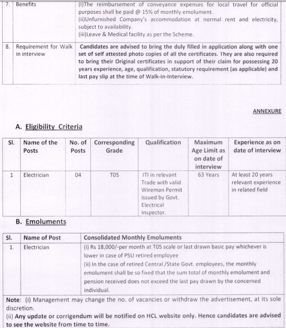 Hindustan Copper Limited Recruitment 2017 hindustancopper.com