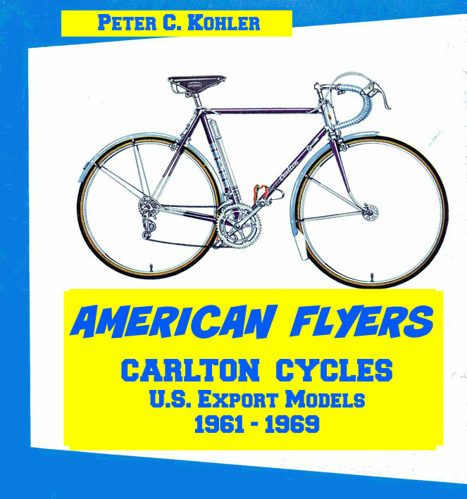 Transfers Carlton Corsair Bicycle Decals Stickers n.50